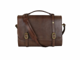 Promise Clothing – Leather Briefcase  – 1