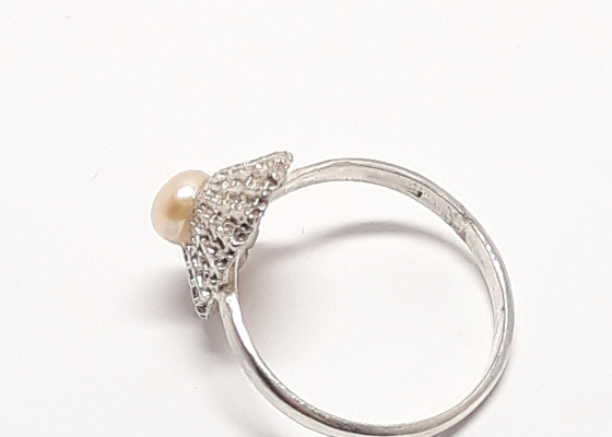 Katia Kolinger Jewelry – Prsten - mušle z Dominical, Kostarika / The Ring- a shell from Dominical, Costa Rica