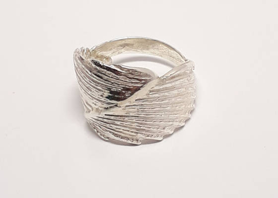 Katia Kolinger Jewelry – Prsten - mušle z Uvita, Kostarika / The Ring - a shell from Uvita, Costa Rica